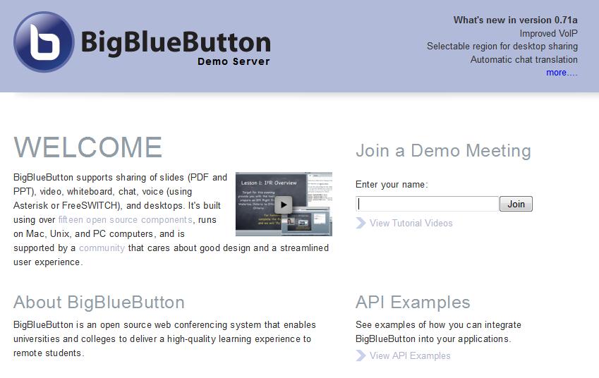 BigBlueButton – faultbucket